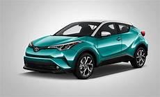 2017 Toyota Chr Hybrid Suv Angular Front Radiant Green