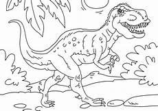 Ausmalbilder Dinosaurier Rex Malvorlage Dinosaurier Tyrannosaurus Rex Kostenlose