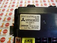 99 galant fuse box find 2003 03 mitsubishi galant fuse box w relay 20801 0242 mr563000 oem motorcycle in houston