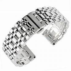Replacement Stainless Steel Wristband Band 20 22 24mm bracelet replacement band stainless