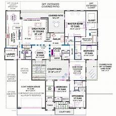 modern house plans with courtyard modern courtyard house plan 61custom contemporary