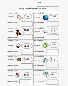 working with money worksheets grade 3 2555 money subtraction sheet money worksheets money math lessons