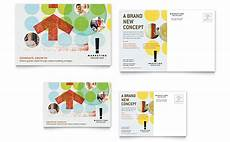 post card template publisher marketing consultant postcard template word publisher