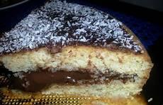 crema con farina di cocco pan di spagna al cocco con crema al cacao pasticciando con rosy