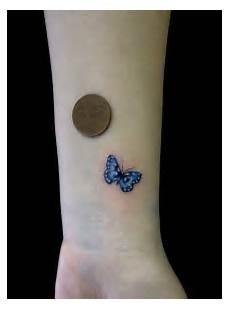Schmetterling Handgelenk - 60 butterfly tattoos on wrists