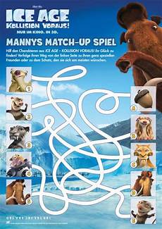 Age Malvorlagen Quiz Age Labyrinth Mannys Match Up Spiel