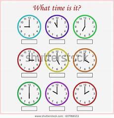 time worksheets for ukg 3225 what time worksheet preschool telling stock vector royalty free 637968151