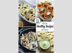 Our Most Popular Easy, Healthy Recipes of 2017   Two