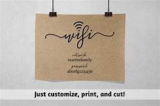 printable password card wifi password printable template wifi password sign print pdf instant download digital