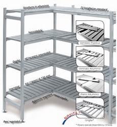 scaffali alluminio scaffalatura per celle frigorifere in alluminio cardano