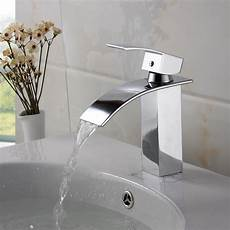 faucets kitchen sink elite modern bathroom sink waterfall faucet chrome finish 8803c bathroom sinks sink