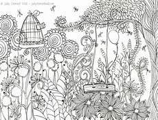 Ausmalbilder Zum Ausdrucken Garten Der Geheime Garten Ausmalbilder F 252 R Erwachsene Kostenlos