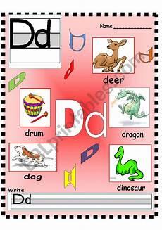 letter dd worksheets 23058 letter dd ee ff vocabulary poster and writing worksheet esl worksheet by annyj