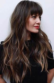 25 gorgeous long hair with bangs hairstyles the trend spotter