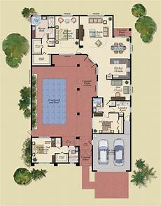 u shaped house plans with courtyard u shaped house plans with courtyard pool best of u shaped