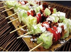 Wedge Salad on a Stick   A Very Bacon Thanksgiving: staff