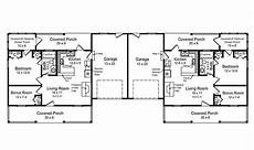 free duplex house plans duplex floor plans single story house house plans 179291