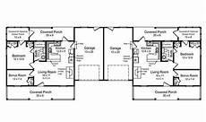 free duplex house plans duplex floor plans single story house house plans 179291