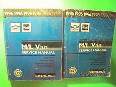 free service manuals online 1996 chevrolet astro free book repair manuals 1996 chevrolet astro gmc safari service manual books 1 and 2 ebay