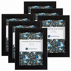 Amazon Com Set Of 6 Amazon Com Picture Frame Set 5x7 Frames Pack For
