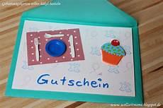 Ausgefallene Geburtstagskarten Selber Basteln - gutschein selber basteln f 252 r ein abendessen geschenke
