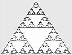 the sierpinski triangle the chaos game study com