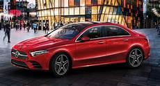 Mercedes A Class L Sedan Breaks Cover At Auto China 2018