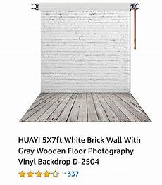 5x7ft White Gray Brick Wall Floor by Affiliate 5x7ft White Brick Wall With Gray Wooden Floor