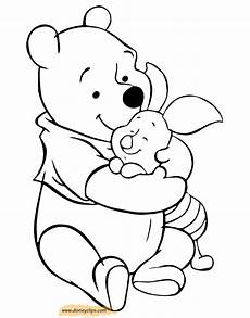 winnie the pooh friends coloring pages 4 disneyclips