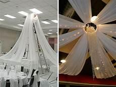 decoration salle de mariage plafond astuce d 233 coration mariage comment habiller le plafond