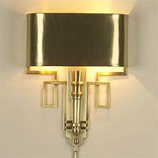 torch sconce with shade antique brass traditional wall