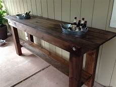 outdoor serving table with built in ice buckets middle deck home sweet home pinterest