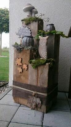 Deko Ideen Aus Holzstämmen - pin bravo auf die liebe zum holz herbst dekoration
