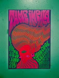 contemporary psychedelic band posters sva portfolios