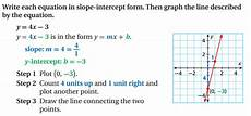lesson 8 4 slope intercept form faribault schools isd 656
