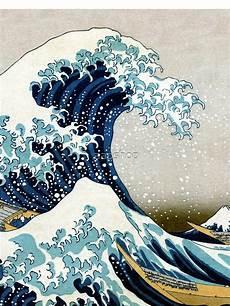 Japanisches Bild Welle - quot the great wave japanese artwork quot t shirt by