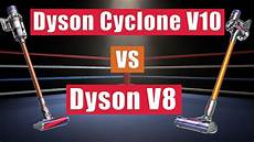 dyson cyclone v10 vs v8 cordless vacuums whats the