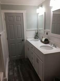 gray painted bathroom door behr classic silver grey interior doors bathroom colors bathroom