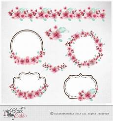 clipart cornici cherry blossoms clipart cherry frames lace digital clipart