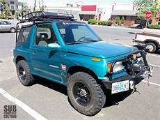 Suzuki Sidekick Roof Rack by The Teal Terror Gets A Roof Rack Subcompact Culture