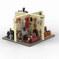 harry potter common room lego moc custom