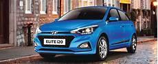 The All New Hyundai New Elite I20 2018 Blue Hyundai An