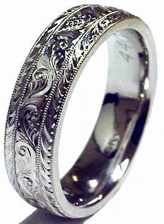 engraved s solid platinum 6mm wedding band ring new finger size 4 7 75 ebay