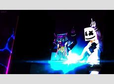 Marshmello & Dj Bop 4k Fortnite Background by Foxsalsa