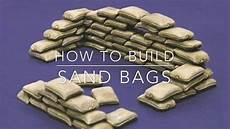 minecraft how to build sand bags military month youtube