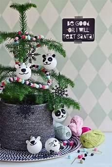 diy deko weihnachtskugeln selbermachen und