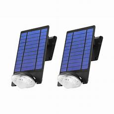 link2home 170 lumen motion activated outdoor adjustable led 6500k solar powered flood light wall