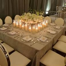 omg i love this large square ceremony table the floral