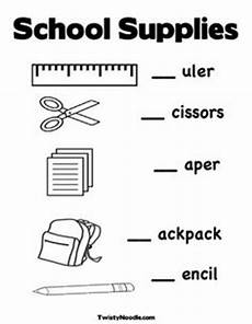 worksheets school supplies 18456 13 best images of things in the classroom worksheet classroom worksheets measuring with ruler