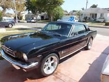 1964 1/2 1965 Ford Mustang Coupe C Code 289 V8 Black On
